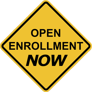 Enrollment is OPEN right now.